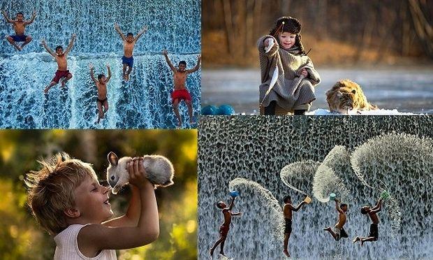 Τι είναι ευτυχία για τα παιδιά; Ενα μοναδικό φωτογραφικό πρότζεκτ που αποτυπώνει τη χαρά τους!