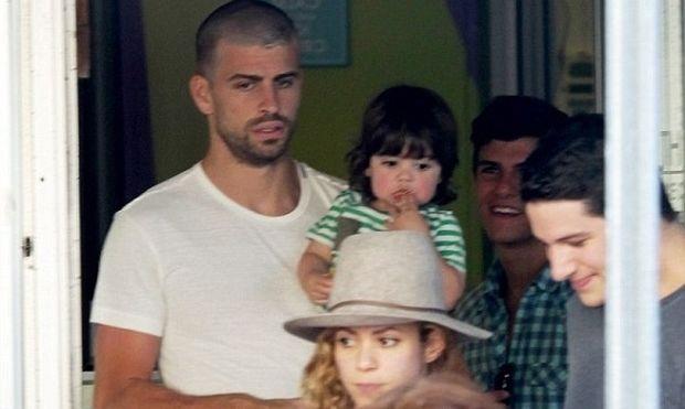 Οικογενειακές διακοπές για Shakira και Pique στο Μαϊάμι