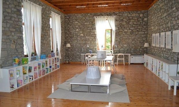 Παιδική βιβλιοθήκη «αληθινό κόσμημα» στην ορεινή Κρανιά Γρεβενών εγκαινιάζεται το Σάββατο