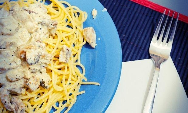 Συνταγή για γρήγορη και πεντανόστιμη μακαρονάδα με μανιτάρια!