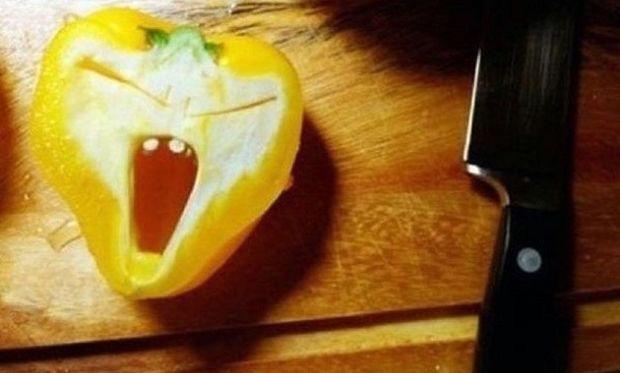 Όταν οι πιπεριές συμπεριφέρονται σαν άνθρωποι! (εικόνες)