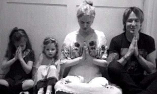 Η Νικόλ Κίντμαν και ο Κίθ Ούρμπαν, μοιράζονται μαζί μας ένα οικογενειακό βίντεο!
