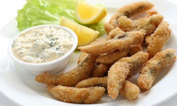 Συνταγή για τραγανά φιλετάκια ψαριού πανέ!