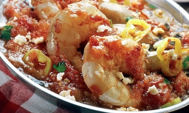 Συνταγή για πεντανόστιμες γαρίδες σαγανάκι φούρνου!
