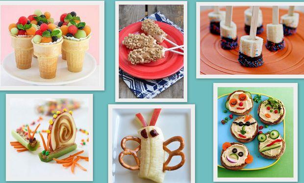 Ιδέες για εύκολα και γρήγορα σνακ για μετά το σχολείο!
