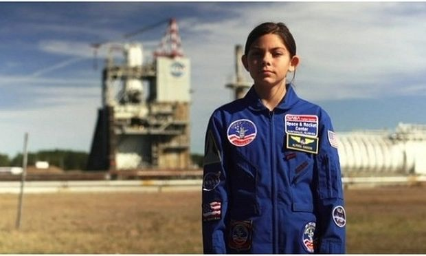 Δεν είναι πλάκα! Αυτό είναι το δεκατριάχρονο κορίτσι που θα πάει στον Άρη!