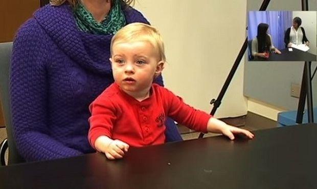 Δείτε τι κάνουν τα παιδιά όταν βλέπουν έναν ενήλικα θυμωμένο! (βίντεο)