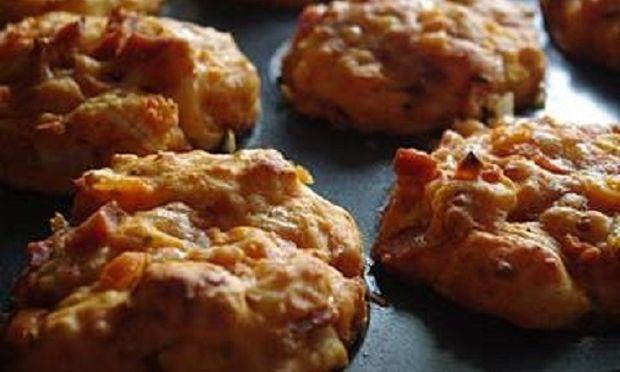Συνταγή για muffin πίτσακια!