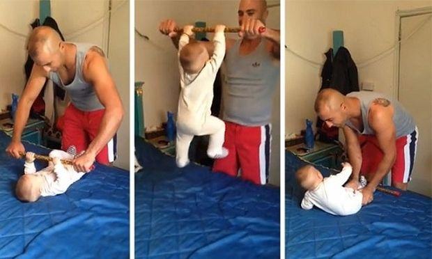 Απίστευτο: Δείτε τι κάνει αυτό το μωρό και έχει ξετρελάνει το διαδίκτυο! (βίντεο)