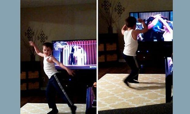 Δε θα το πιστεύετε πώς χορεύει αυτός ο 8χρονος! (βίντεο)