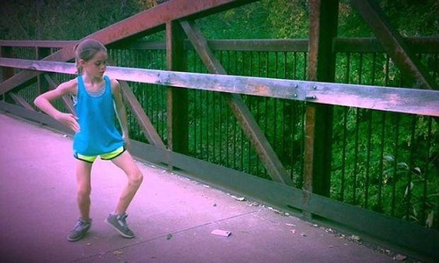 Δείτε τι κάνει μία 11χρονη και το βίντεο έχει πάνω από 2 εκατομμύρια κλικαρίσματα! (βίντεο)