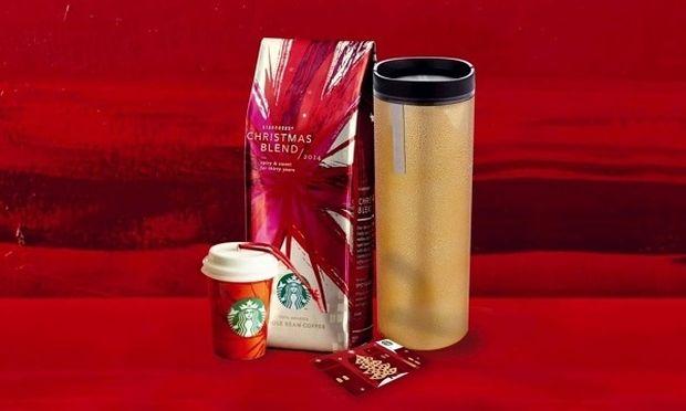 Τα Χριστούγεννα έρχονται πάντα πρώτα στα Starbucks. Δώρα 2014