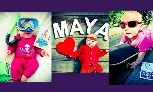 Υπέροχο: Μαμά φωτογραφίζει την κορούλα της κάθε εβδομάδα σε παραμυθένιο σκηνικό (εικόνες)