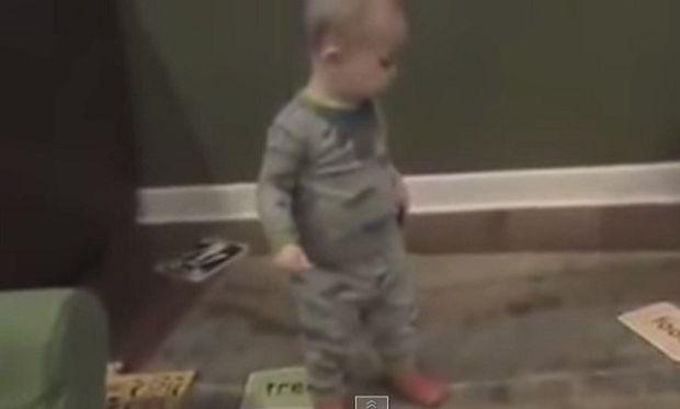 Αυτό είναι το σούπερ μωρό! Δείτε για ποιο λόγο (βίντεο)