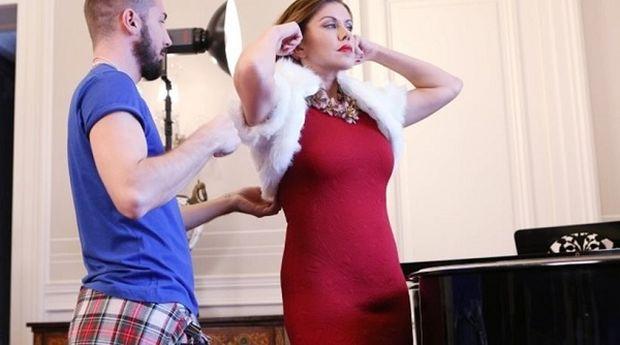 Η Ευγενία Μανωλίδου σε ρόλο... μοντέλου!