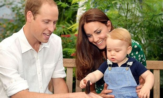 Αυτή είναι η φωτογραφία του πρίγκιπα Τζορτζ που έκανε θραύση στο διαδίκτυο! (εικόνα)