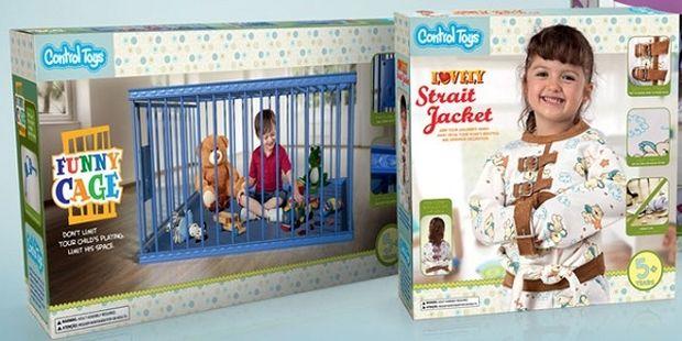 Αξιολάτρευτος ζουρλομανδύας και Αστείο κλουβί: «Εκπαιδευτικά» παιχνίδια για παιδιά που χάνουν τον έλεγχο (εικόνες&βίντεο)