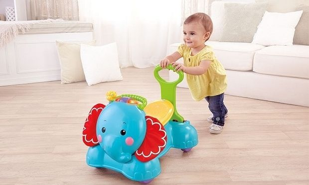 Στράτα Ελεφαντάκι: Η καλύτερη συντροφιά για να μάθει να περπατάει το μωρό σας!