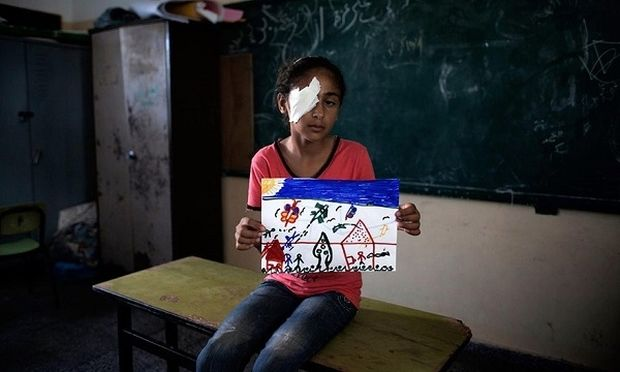 Ζήτησαν από παιδιά της Γάζας, να ζωγραφίσουν πώς φαντάζονται το μέλλον τους. Δείτε τις ζωγραφιές τους!