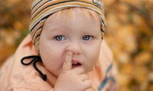 Δείτε για ποιο λόγο ένα παιδί σκαλίζει τη μύτη του!