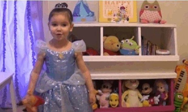 Δείτε τι συμβουλεύει μία 3χρονη με καρκίνο στην κολλητή της! (βίντεο)
