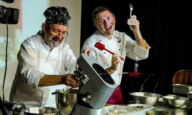 Οι Ιταλοί Chef  Walter Frontalini &  Giordano Bendandi στο ΙΕΚ ΑΚΜΗ!