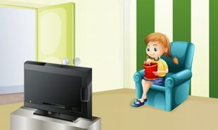 «Κολλημένα» με την τηλεόραση τα παιδιά, ιδιαίτερα τα κορίτσια