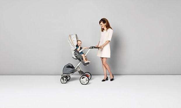 Κάντε το παιδικό σας καρότσι ρετρό σικ- Style Kit Grid για το κάθισμα παιδικού καροτσιού Stokke