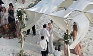Οι πρώτες φωτογραφίες από το γάμο του Johny Depp
