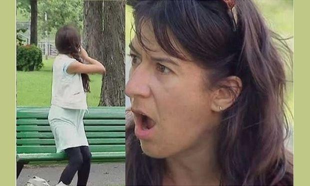 Αυτό το κορίτσι ζητά βοήθεια από τους περαστικούς. Το γιατί θα σας παγώσει!(βίντεο)