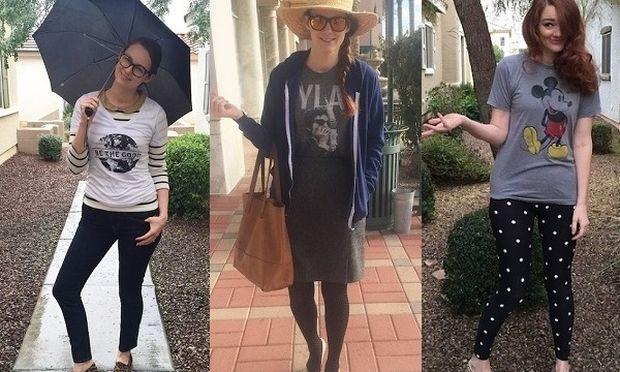 Ο τρίχρονος γιος της, διάλεγε τα ρούχα της για μια εβδομάδα. Ιδού το αποτέλεσμα!(εικόνες)