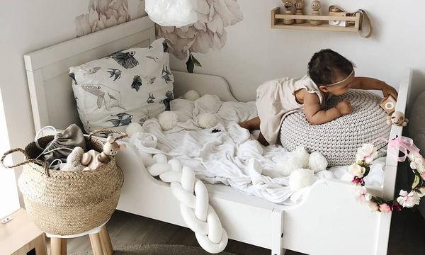 Ιδέες διακόσμησης με πουφ και μαξιλάρες στα δωμάτια