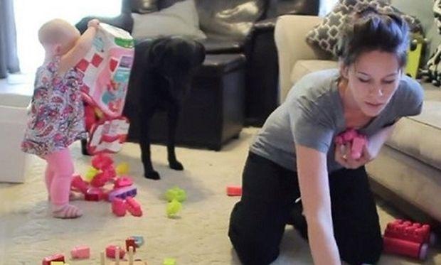 Το βίντεο που έγινε viral και είναι αφιερωμένο σε όλες τις μαμάδες! Δείτε για ποιο λόγο (βίντεο)