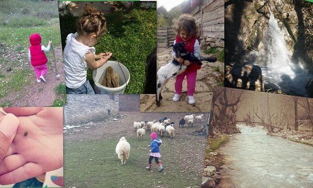 Γιατί τα παιδιά πρέπει να παίζουν στη φύση!