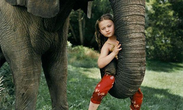 Η Αμέλια και τα ζώα! Μια μαμά αποτυπώνει στον φωτογραφικό φακό της την αγάπη της κόρης της για τα ζώα!