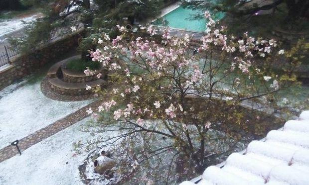 Μεγάλη Εβδομάδα που θυμίζει…Χριστούγεννα-Χιόνια, χαλάζι και χαμηλές θερμοκρασίες