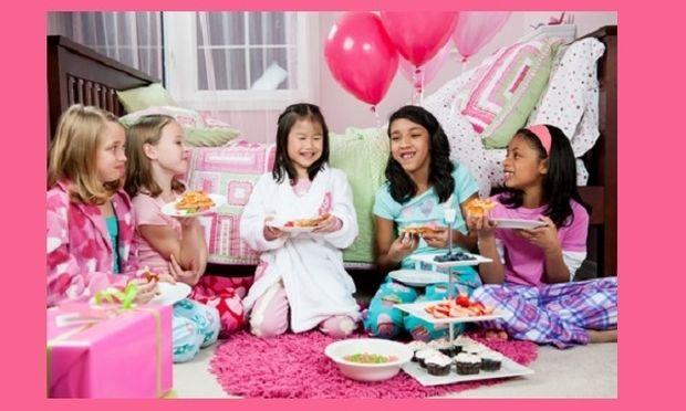 Διακόσμηση sleepover party για παιδιά, από την Αρχιτέκτων Μηχανικό Μάγδα Μαυρίκη!