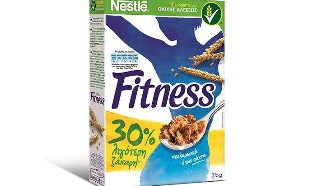 Ανανέωση από τα δημητριακά ολικής αλέσεως FITNESS®, με 30% λιγότερη ζάχαρη!