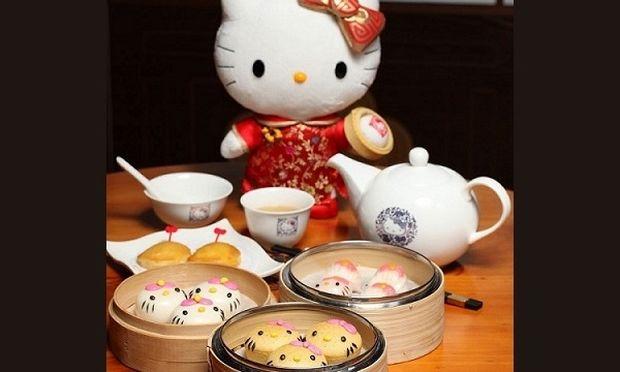 Το πρώτο Hello Kitty εστιατόριο είναι γεγονός! (εικόνες)