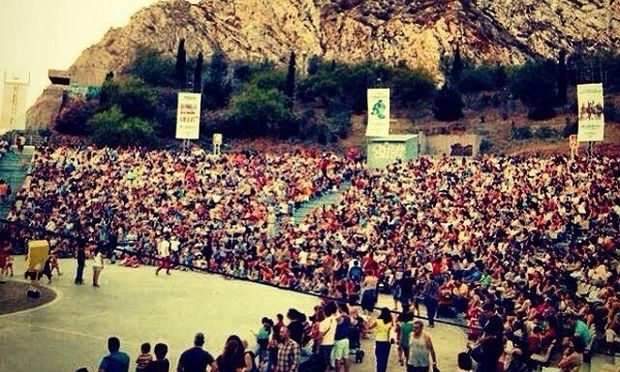 «Τα Παιδιά Πάνε Σινεμά eco» στο θεατρο Κατράκειο της Νίκαιας