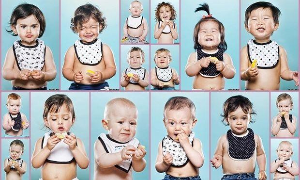 Δεκαέξι παιδιά δοκιμάζουν λεμόνι. Δείτε την αντίδρασή τους! (εικόνες)