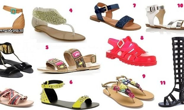 Τεστ για κορίτσια: Τι σανδάλια σου ταιριάζουν;