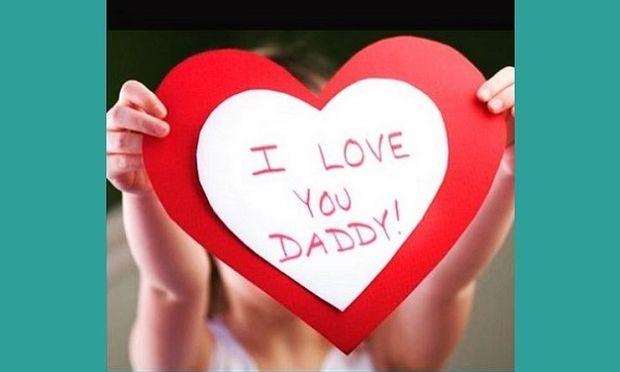 Αυτή την φωτογραφία ανέβασε για την Γιορτή του Πατέρα η... (εικόνα)
