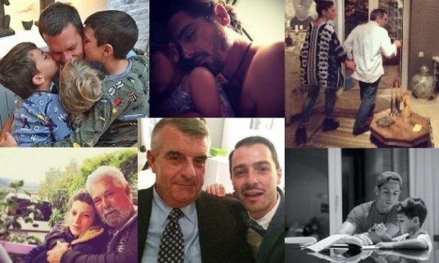 Οι αγαπημένοι celebrities τιμούν τη Γιορτή του Πατέρα με τις πιο τρυφερές φωτογραφίες (εικόνες)