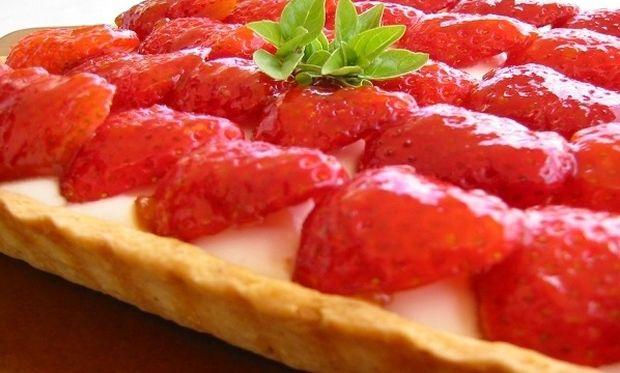 Συνταγή για μαμαδίστικη τάρτα φράουλας!