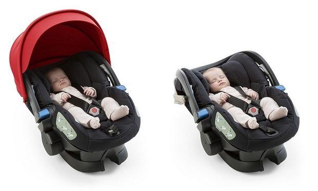 Το κάθισμα αυτοκινήτου με ανάκλιση. Stokke® iZi Sleep™ X3 από την BeSafe®