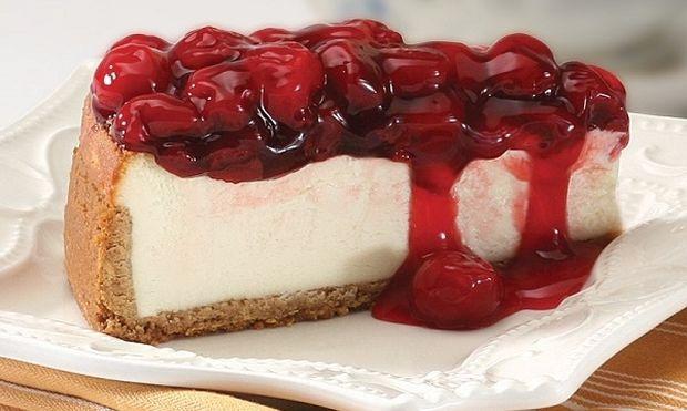 Συνταγή για δροσερό cheesecake κεράσι