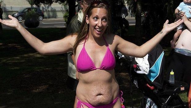 Αυτή είναι η απάντηση μίας μητέρας που βγήκε με μπικίνι στην παραλία και δέχθηκε bullying (εικόνες)