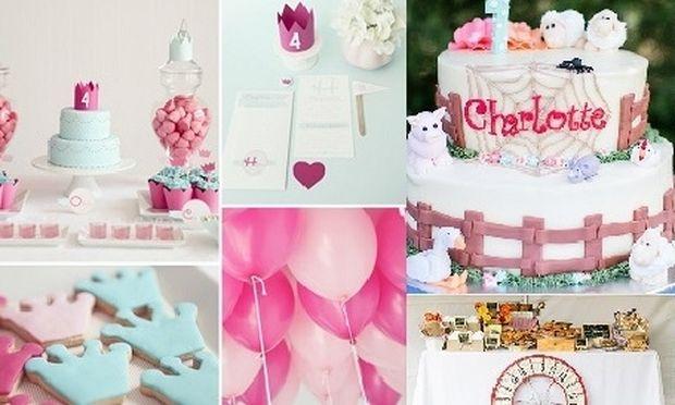5+3 ιδέες για παιδικό πάρτι γενεθλίων αποκλειστικά για κορίτσια! (εικόνες)