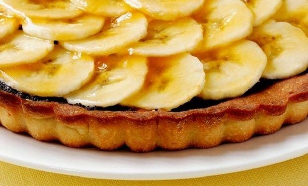 Συνταγή για λαχταριστή τάρτα μπανάνας με μπισκότο!